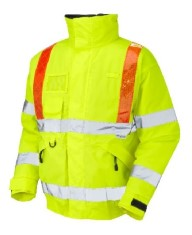'LEO' Hi Vis Traffic Management Superior Bomber Jacket