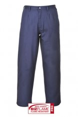 'Portwest' Navy Flame Resistant Trousers