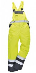 'Portwest' Hi Vis Unlined Bib and Brace
