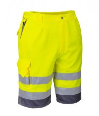 'Portwest' Hi Vis Poly-cotton Shorts