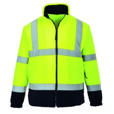 'Portwest' Hi Vis Two-Tone Fleece