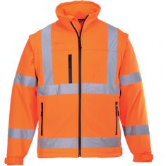 'Portwest' Hi-Vis Softshell Jacket