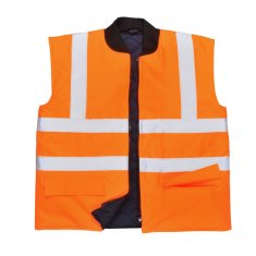 'Portwest'  Hi Vis Reversible Bodywarmer