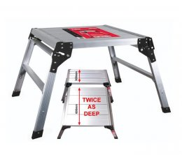ProDec 600mm Square Aluminium Workstand