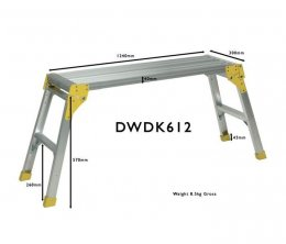 ProDec 1200mm Aluminium Workstand
