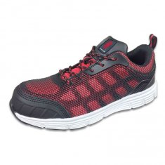 Red Mesh Safety Trainer - NEW