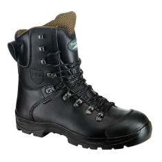 Rock Fall Chatsworth Black Safety Chainsaw Boot