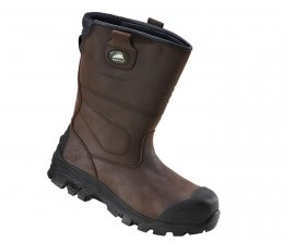 'Rock Fall' Texas II Composite Metal Free Waterproof Rigger Boots