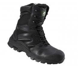 Rock Fall Titanium Composite Black Safety Boot