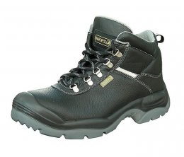 DeltaPlus' Leather Safety Toe Cap Work Boot S3