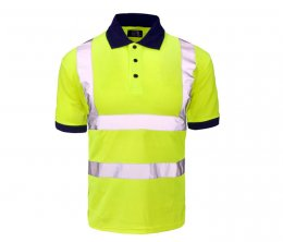 'Supertouch' Hi Vis Polo Shirt