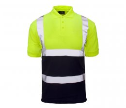 'Supertouch' Hi Vis 2 Tone Polo Shirt