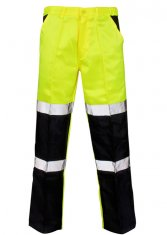'Supertouch' Hi Vis Ballistic Work Trousers