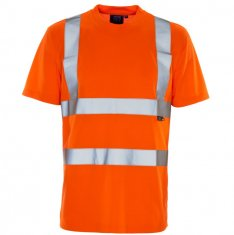'Supertouch' Hi Vis Bird Eye T Shirt