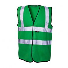 'Supertouch' Coloured Hi Vis Vest with Reflective Strip