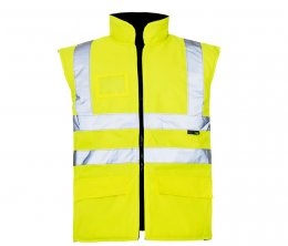 'Supertouch' Reversible Hi Vis Interactive Bodywarmer