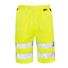 'Supertouch' Hi Vis Work Shorts