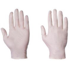 'Supertouch' Latex Disposable Powdered Gloves (100 x 10)