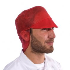 'Supertouch' Disposable Peaked Snood Cap -  50x10