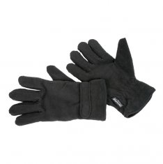 Thinsulate Black Fleece Glove - pack 2