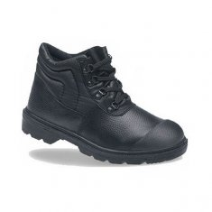Toesavers Black Dual Density Boot with Scuff Cap