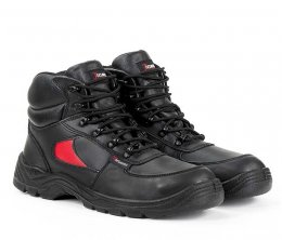 Toesavers Black / Red Dual Density Trainer Boot