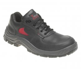 Toesavers Black / Red Dual Density Trainer Shoe