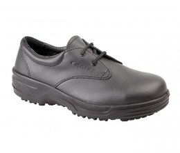 'Cofra' Ladies Black Leather Safety Shoe