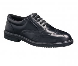 'Tuffking' Black Brogue Executive Shoe