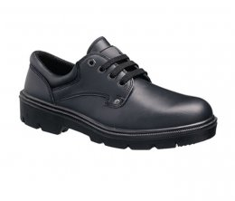 'Tuffking' Black Uniform Safety Shoes