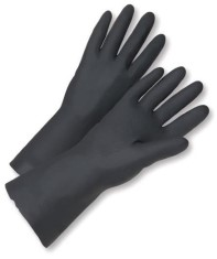WarriCHEM Black Latex Gloves