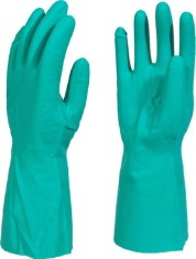 WarriCHEM Green Nitrile Gloves X6