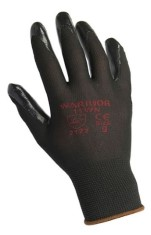 Black Nitrile Gloves x12
