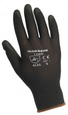 'Warrior' PU Gloves (x12) - in Black, Grey or White