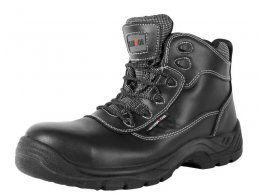 Black Non-Metallic Safety Boots