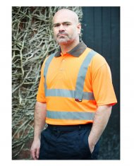 'Warrior' Daytona Hi Vis Polo Shirt