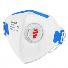 Warrior FFP2 Fold Flat Face Mask (Pk 20)