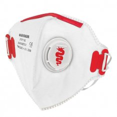 Warrior FFP3 Fold Flat Face Mask (Pk 20)