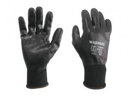 Warrior Black F/C Nitrile Glove