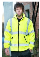 'Warrior' Hudson Hi Vis Fleece Jacket
