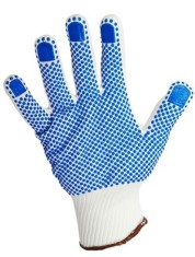 'Warrior' Knitted Dotted Gloves - X12