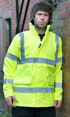 'Warrior' Newark Unlined Hi Vis Jacket