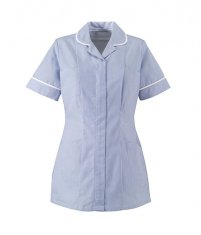 Womens-Healthcare-Strip-Tunic-ST298-White-Blue.jpg