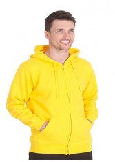 Unisex Classic Full Zip Hooded Sweatshirt
