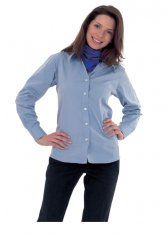 'Uneek' Ladies Pinpoint Oxford Full Sleeve Shirt