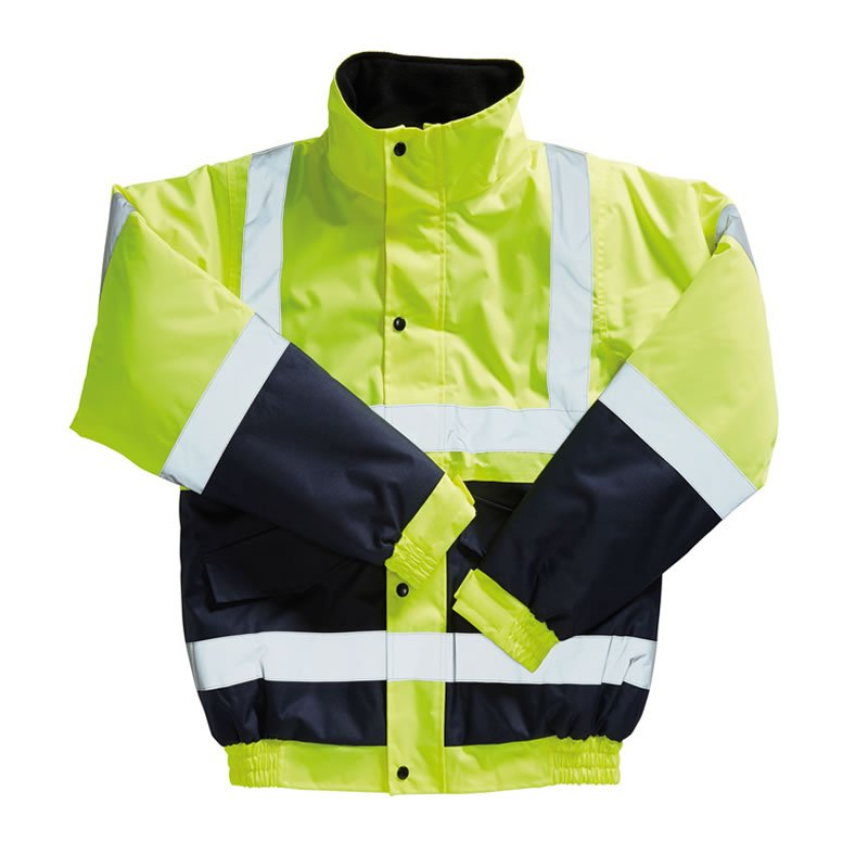 Hi-Vis Two Tone Bomber Jacket