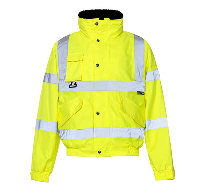 Hi Vis Breathable 2 in 1 Bomber Jacket