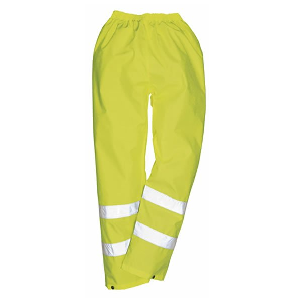'Portwest' Hi-Vis Rain Trousers