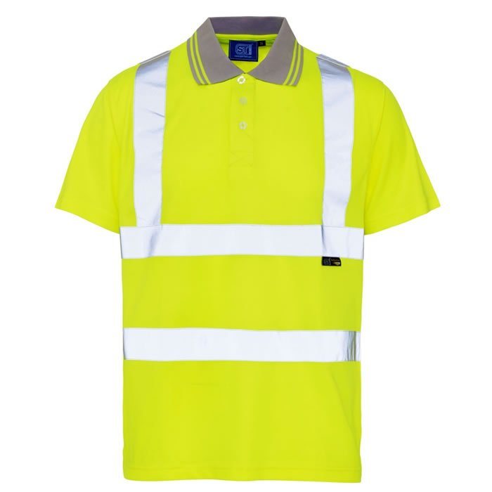 'Supertouch' Hi Vis Bird Eye Polo Shirt