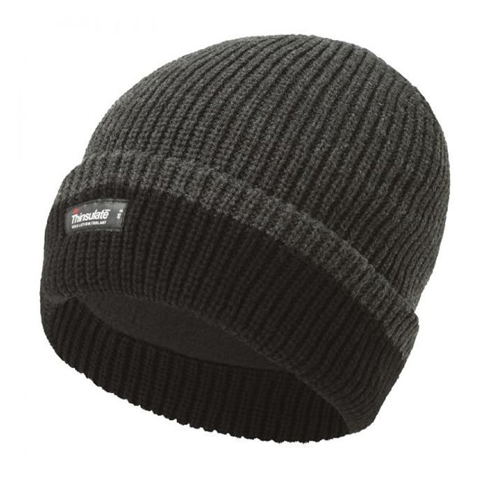 Thinsulate Knitted 2-Tone Beanie - Pack 2